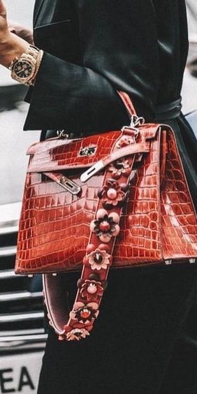 Hermes Crocodile handbag heaven!