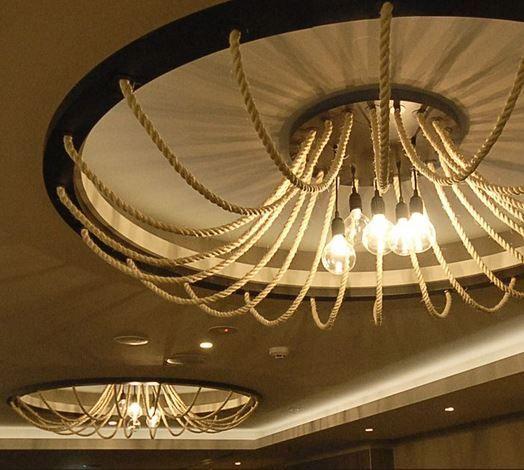 102 best inspiration images on pinterest light fixtures lighting bespoke rope ceiling lights lukee2lighting designer aloadofball Images