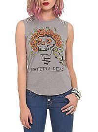 HOTTOPIC.COM - Grateful Dead Muscle Girls T-Shirt