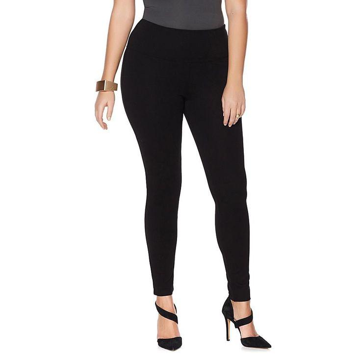 MarlaWynne Ponte Knit Legging - Black