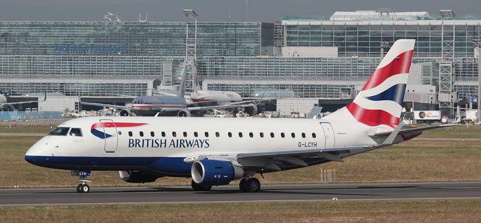 british airways embraer erj-170