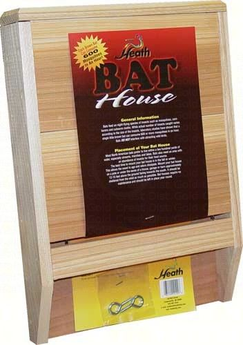 Bat House - Help with Bat Conservation by putting this bat home in your yard.  Bats eat MOSQUITOS, and other insects! #BatConservation