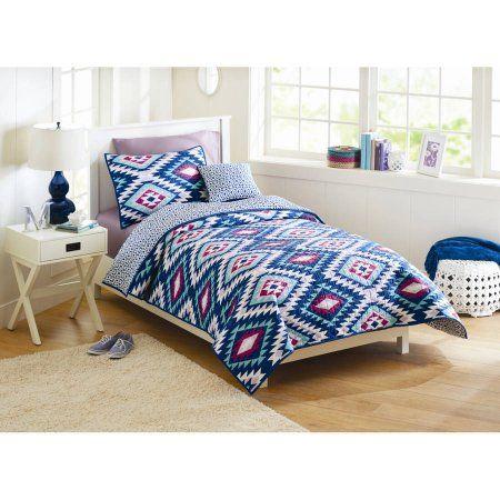 Better Homes and Gardens Southwest Aztec Quilt Bedding Set - Walmart.com