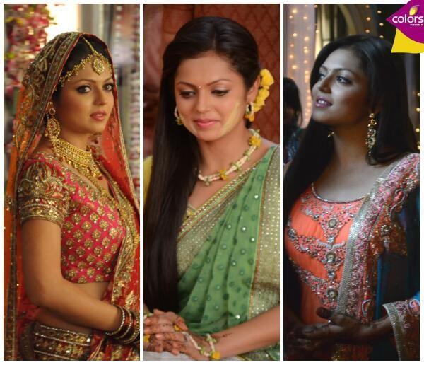 Madhu in her bridal, haldi, mehendi outfit