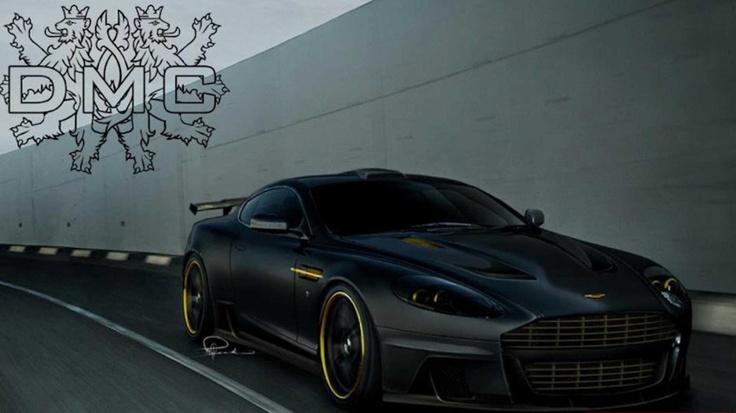 Wallpaper Aston Martin DBX Modified by DMC