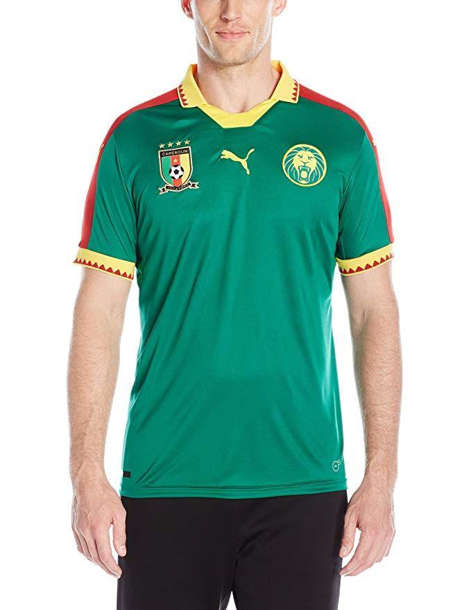 PUMA Men s Cameroon Home Replica Shirt Review  3f8ba39d2