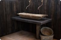 Betonnen wasbak / meubel GROTE TROG