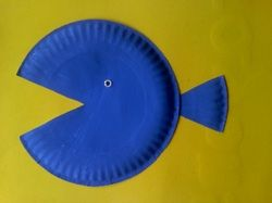 Very Easy Fish Craft!  Seriously easy!