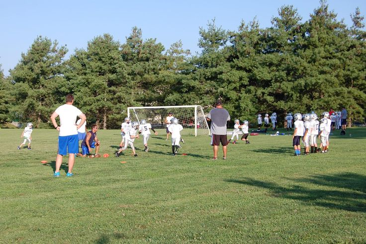 Youth football at MBLP, August 2014