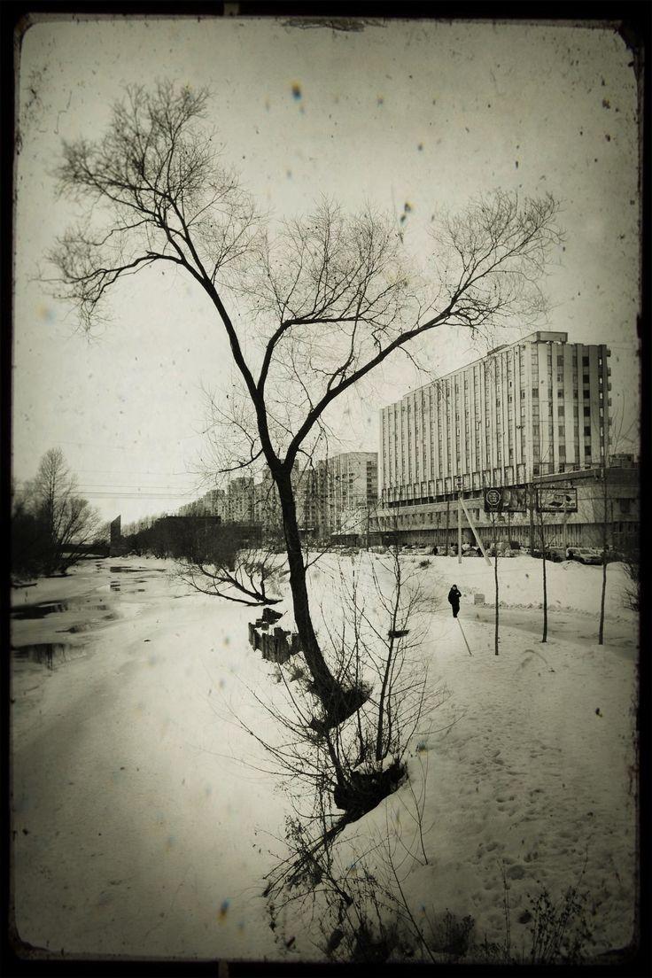 Smolenka river, 2012