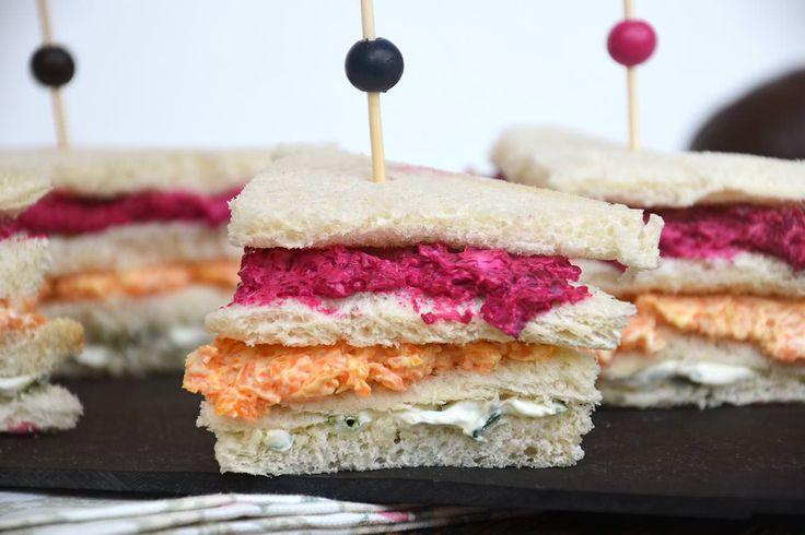 Tramezzini vegetariani, scopri la ricetta: http://www.misya.info/ricetta/tramezzini-vegetariani.htm