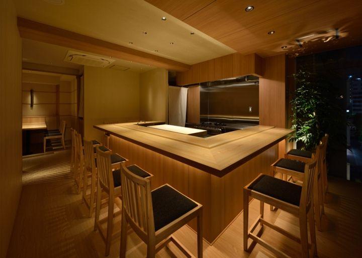 Nakayama Sushi Restaurant By TO Inc Tokyo Japan Retail Design Blog