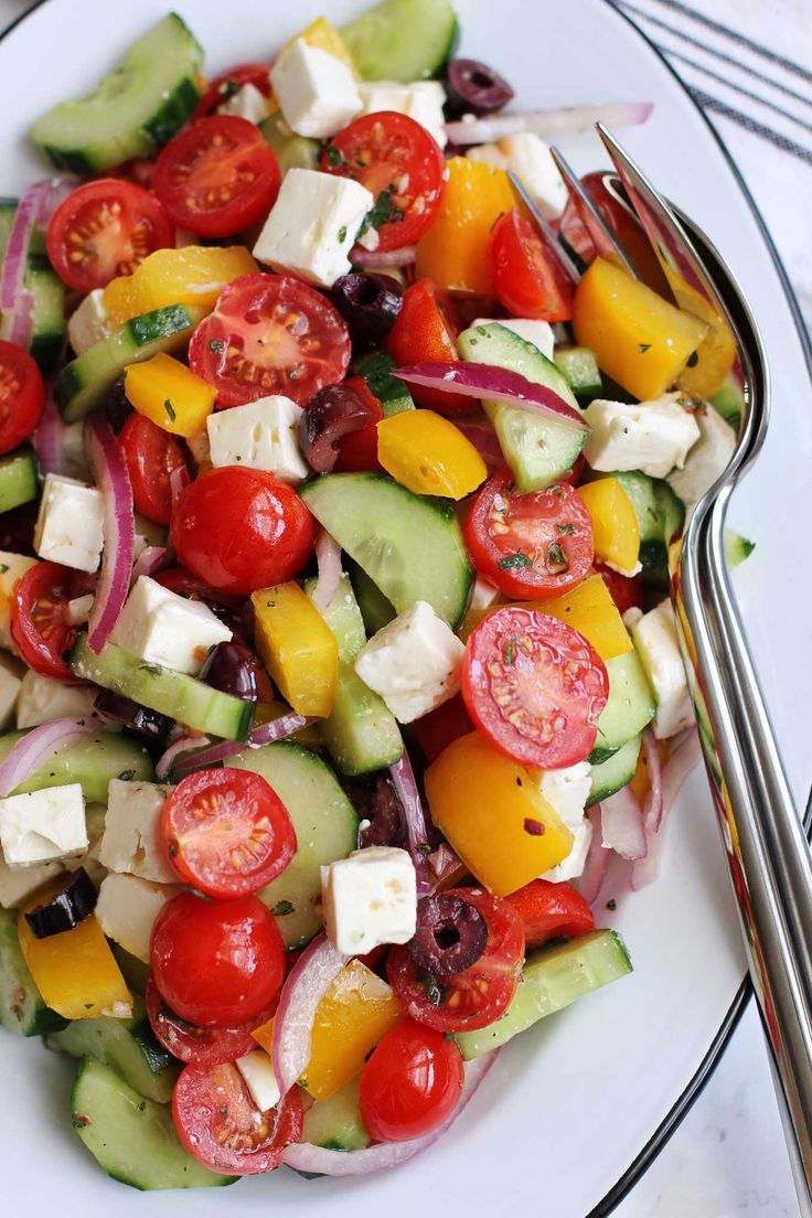 Greek Salad | Green Valley Kitchen