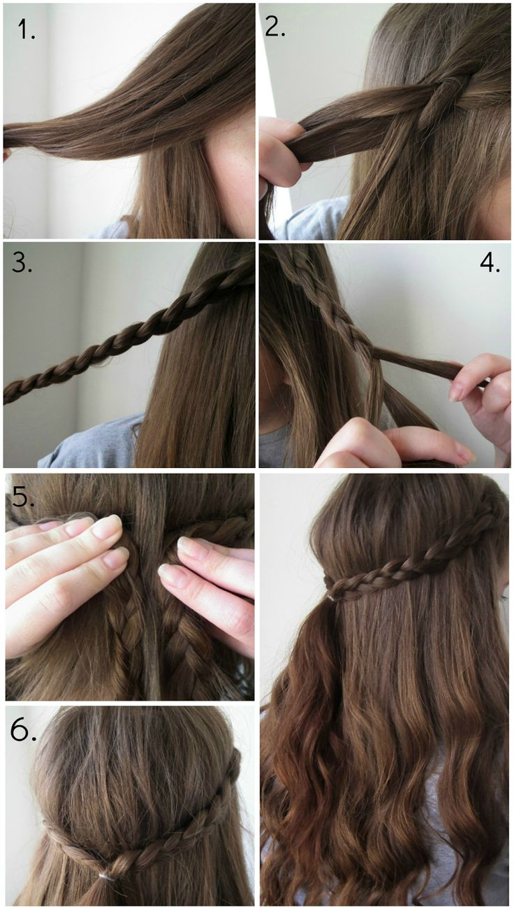 Quick & Easy Braid Hairstyle - perfect look for spring and summer