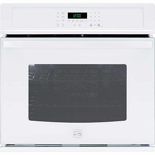 """Kenmore Kenmore 49502  27"""" Electric Self-Clean Single Wall Oven /w Convection - White"""