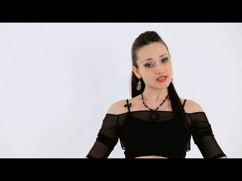 How to Do Piston Hips | Belly Dancing - YouTube