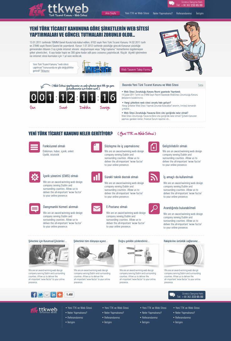Türk Ticaret Kanunu - Web Sitesi | Web Design