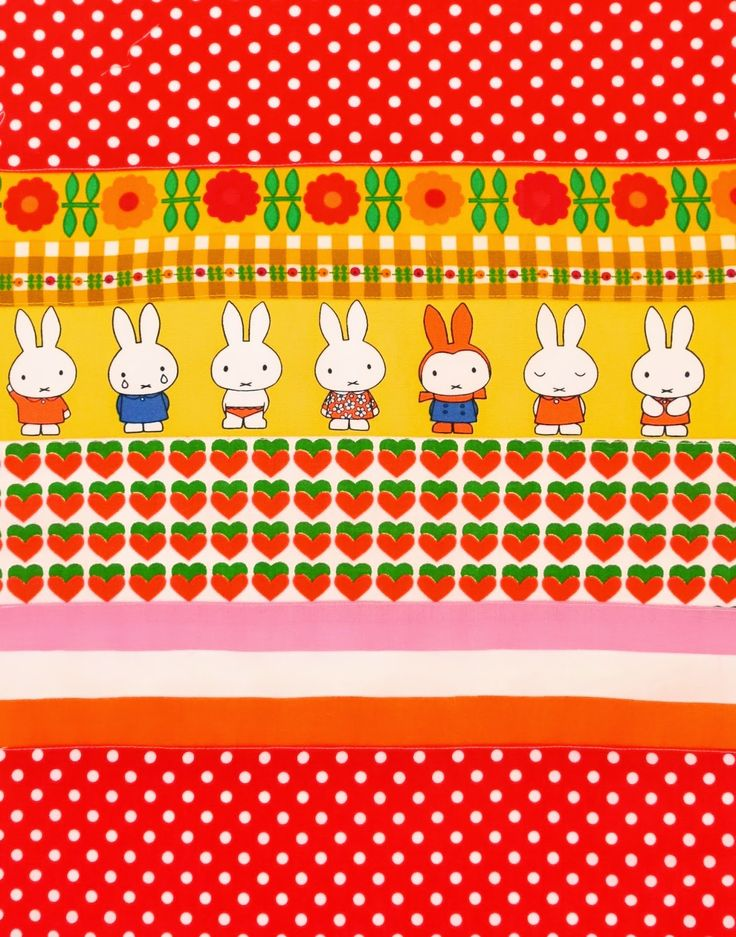 Jane Foster Blog: A few more Scandi Miffy blankets for friends