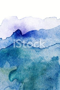 Abstract Design Creativity Background of watercolor hand painted Royalty Free Stock Photo