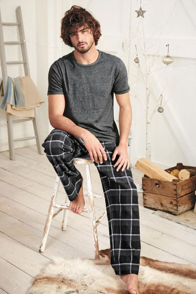 Marlon Teixeira 2015 Next Loungewear 001 Marlon Teixeira Models Leisure Wear for Next