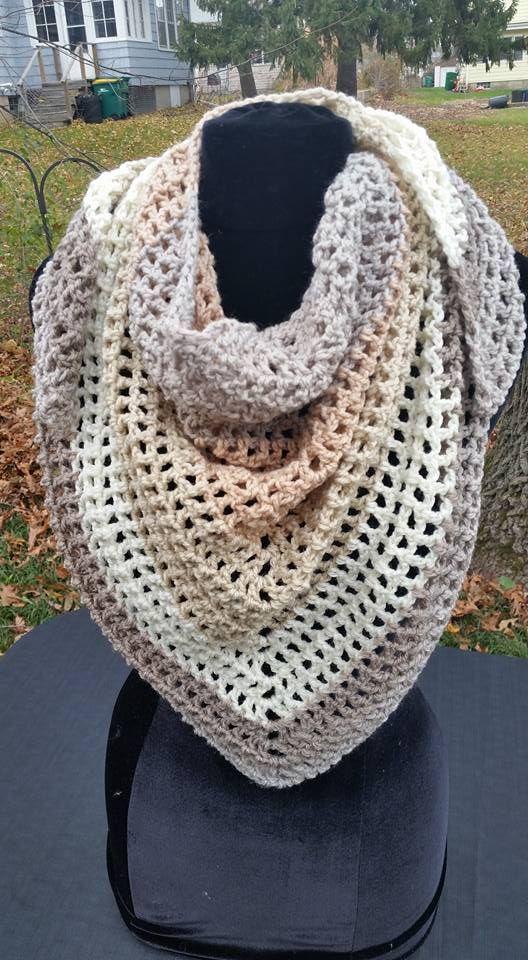 Using Sweet Roll Yarn Crochet Crochet Shawl Crochet