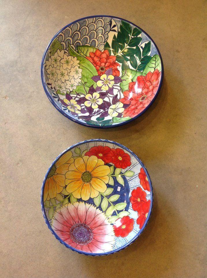 Damariscotta pottery serving bowls