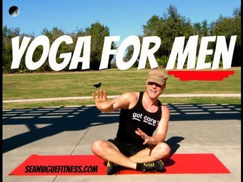 5 minute beginner Yoga for Men workout that's perfect for the newbie.