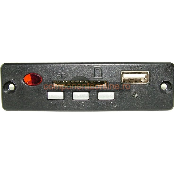 Modul decodor MP3, citire USB/ SD, cu telecomanda - 130302