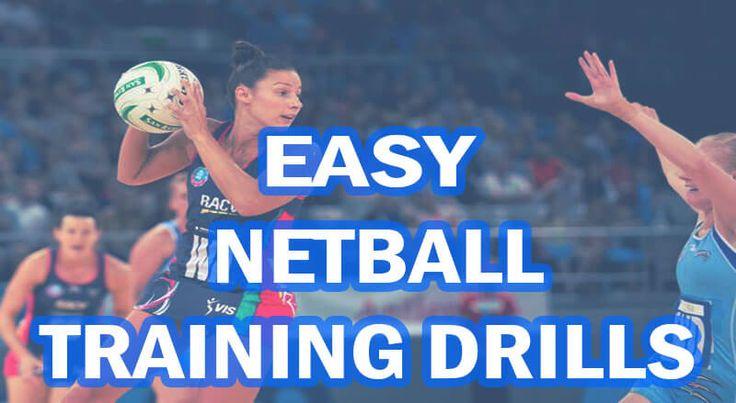 Some Easy Drills for Netball Training... http://www.goodnetballdrills.com/easy-netball-training-drills-exercises/ #netball #sports