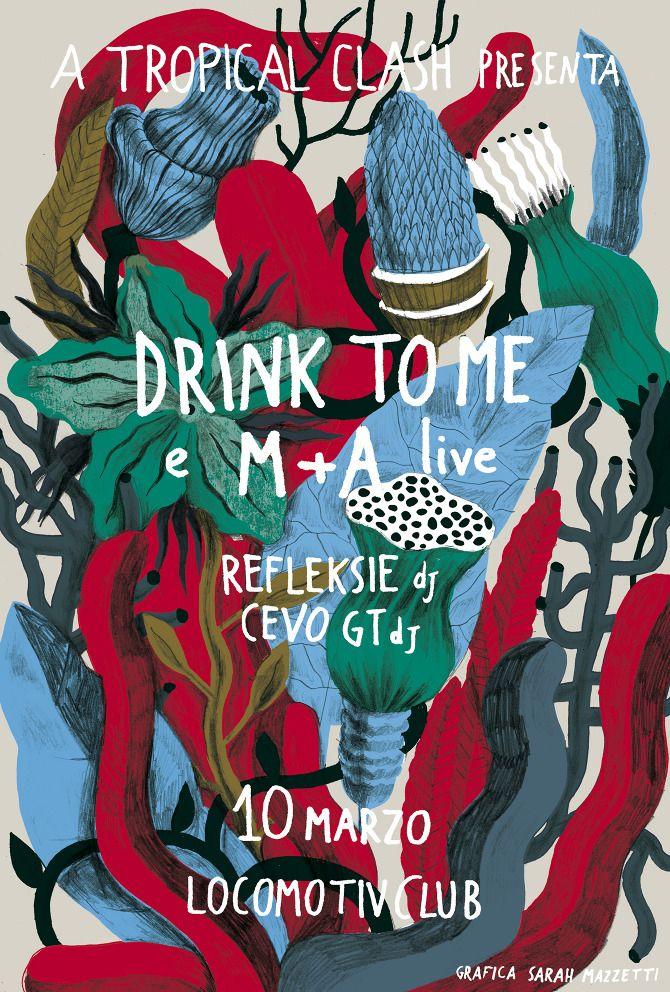 Sarah Mazzetti - LOCOMOTIV/Drink to me
