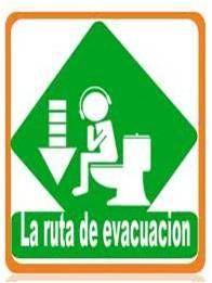Ruta de evacuación personal