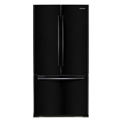 33 Quot Wide Black French Door Bottom Freezer Refrigerator 18