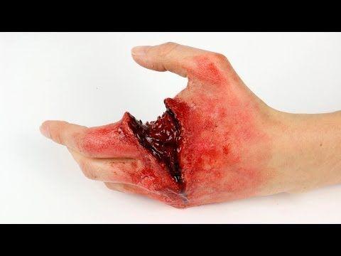 FX Halloween Series: OMG! I cut my hand! - YouTube
