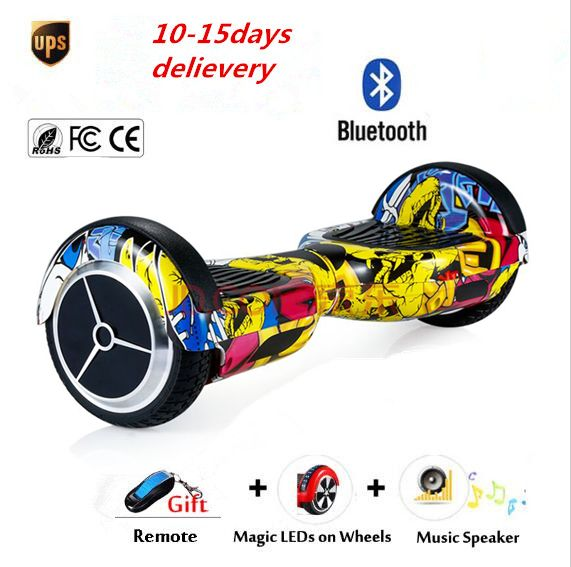 No Tax LED lights on 2 wheel Smart Electric scooter self balance Electric Unicycle Skateboard standing drift electric hoverboard *** AliExpress Affiliate's Pin. Locate the offer simply by clicking the image