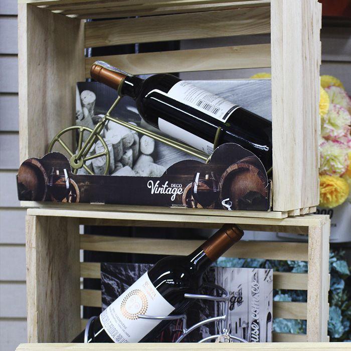Bicis decorativas porta vinos