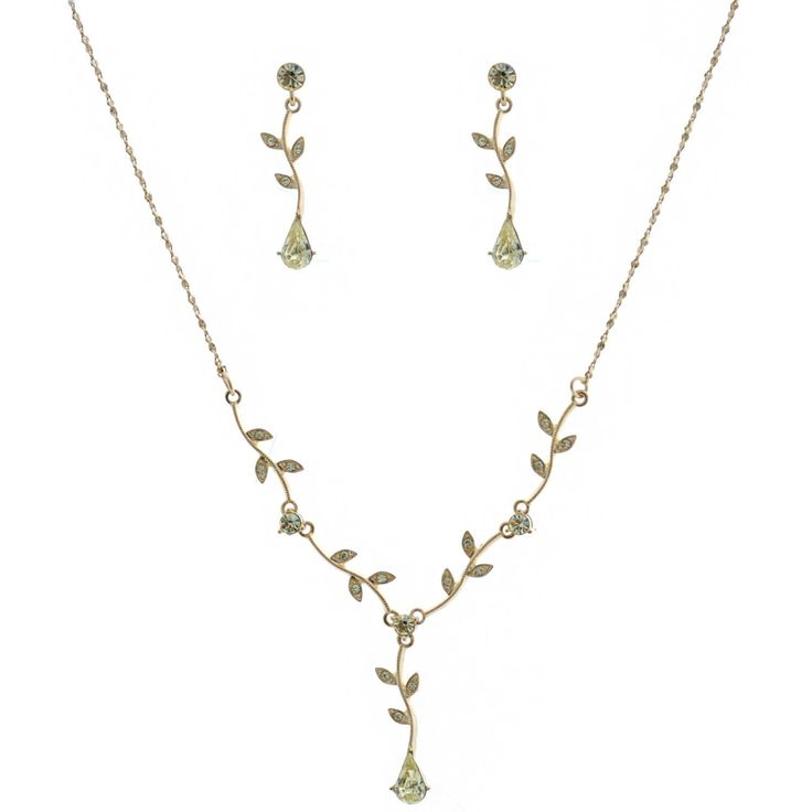 Gold Jonquil Flower Set