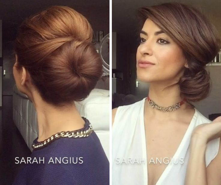 5 Wedding Hairstyles by Sarah Angius: Chic, Boho, Elegant, Glam, Whimsical: There's a reason Sarah Angius is one of our go-to beauty gurus — she never gets stuck in a hair or makeup rut. Daily she has new styles, new ideas. These five wedding-approved hair tutorials are sure to inspire. We've got every bridal style covered. Chignon, bun, updo, curls — she's got an idea for every style.