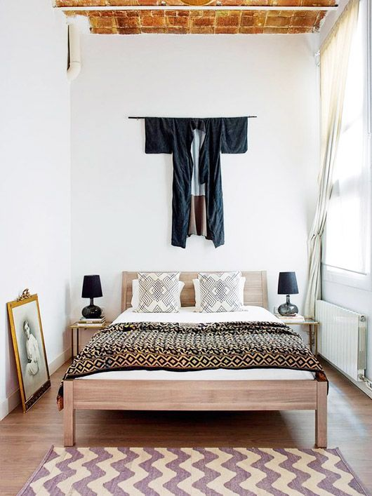 bedroom in the home of interior designers a b curated sfgirlbybay