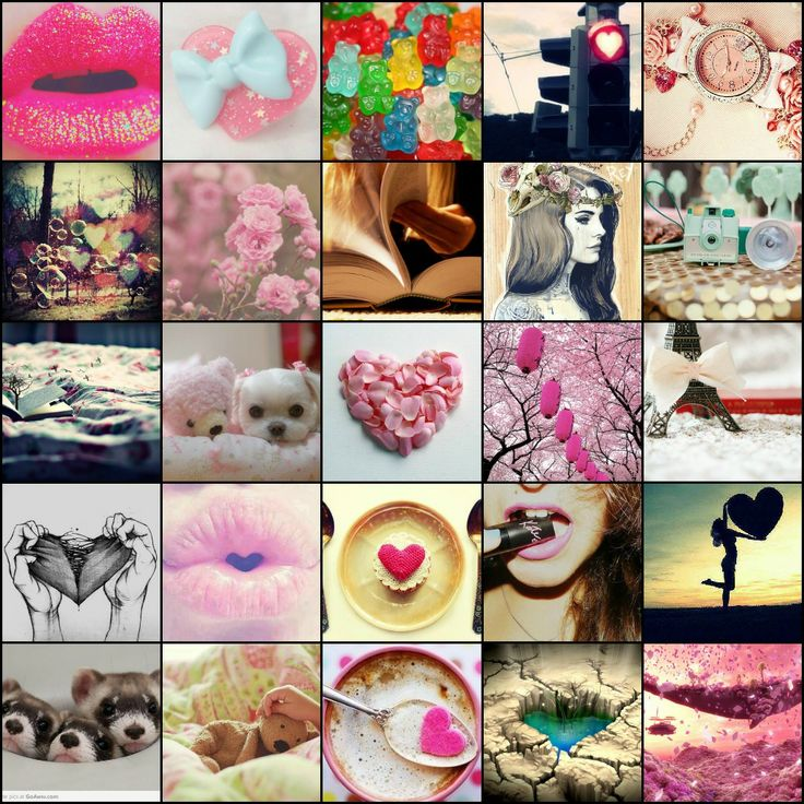 girly collage wallpaper - photo #9