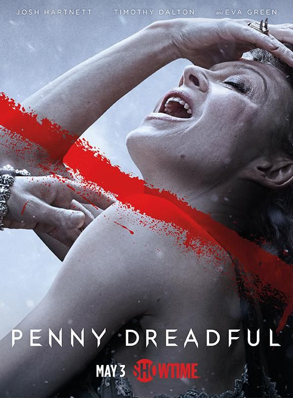 Helen McCrory as Evelyn Poole - New 'Penny Dreadful' posters reveal the villains who will be causing trouble on the second season of Showtime's monster mash-up.
