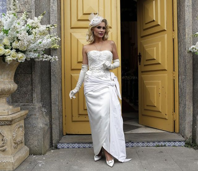 Sandra (Flavia Alessandra), vestido de noiva, Eta Mundo Bom, casamento Ernesto