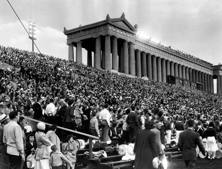 "themanonfive: "" Soldier Field (1950) """