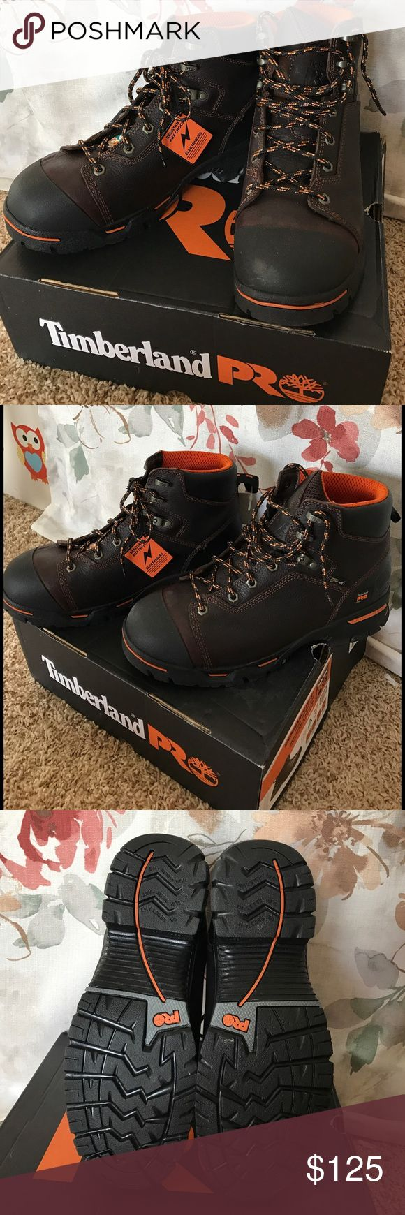 "Timberland Pro Endurance PR 6"" • Steel toe Boot Brand new in box • Steel safety toe • Heat Resistant Sole • Electric shock resistant  • Puncture Resistant out sole. Timberland Shoes Boots"