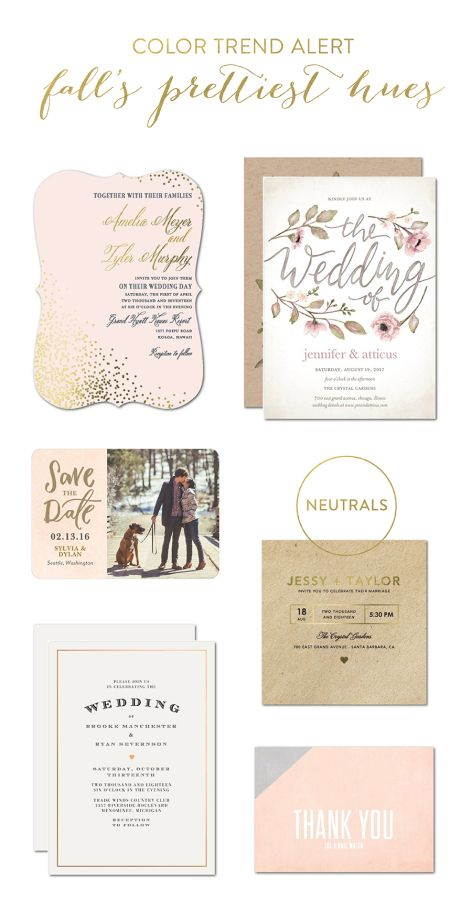 Neutrals are going nowhere this fall! http://www.stylemepretty.com/2016/10/10/color-trend-alert-weaving-falls-prettiest-hues-into-your-stationery/ #sponsored