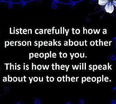 Always. Once you see it you know you're next in line for it. Observe how people treat others when they are under stress - it's easy to be nice and speak nicely when life is grand. Kindness under stress takes character.