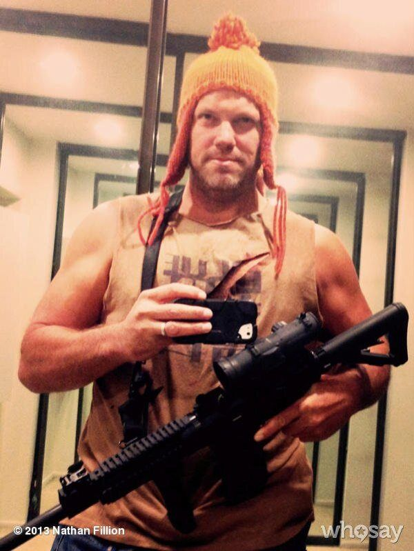 Adam Baldwin Cosplays his own character for Halloween - Jayne Cobb - Firefly