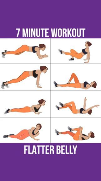 Great workout routine for a flat stomach! Try this fat-burning core training program