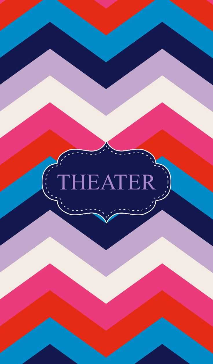 theater binder cover