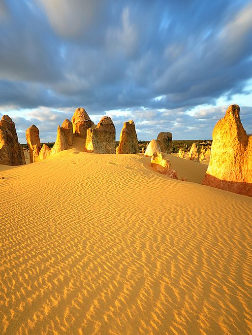 Pinnacles Desert,Western Australia: