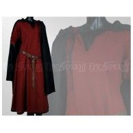 Basic Dress Red. Item can be found at http://www.larpcanada.com